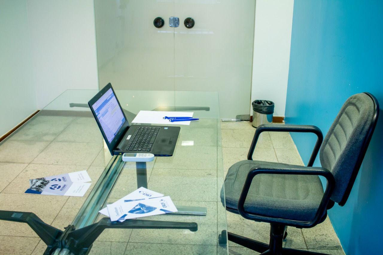 Sala Reunião Blue